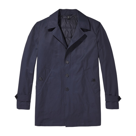 Newton Travel Coat // Deep Navy (S)