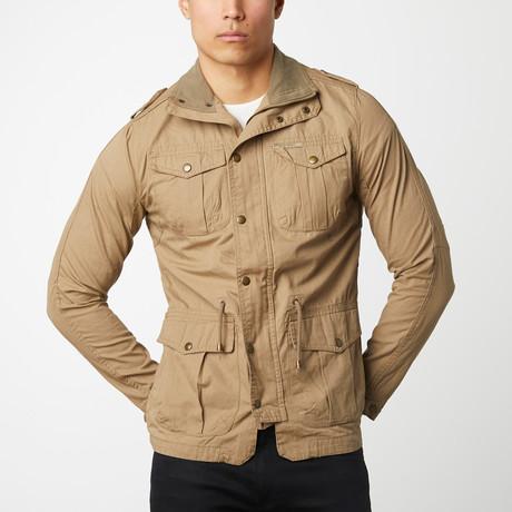 Cotton Safari Jacket // Camel (S)
