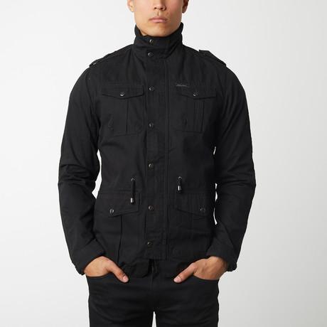 Cotton Safari Jacket // Black (S)