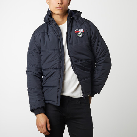 Quilted Parka // Navy (S)