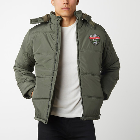 Quilted Parka // Olive (S)