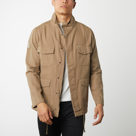 Cotton Canvas Field Jacket // Camel (S)
