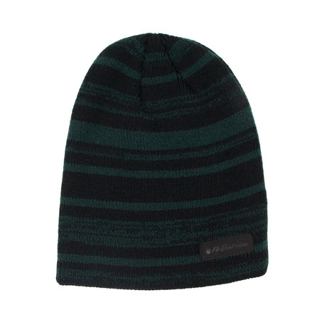 Hawk Knit // Black + Green