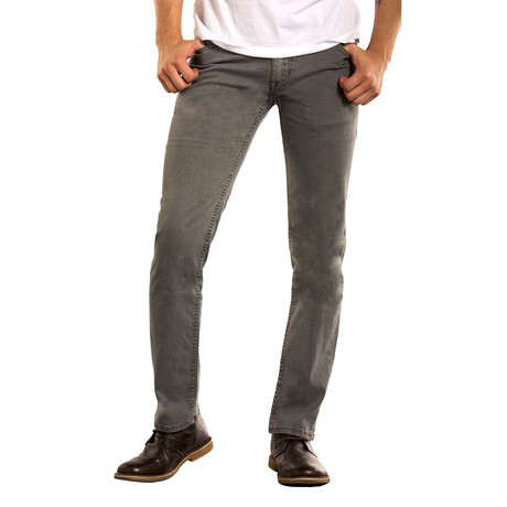 Spring Mens Slim Straight // Gray (28WX32L)