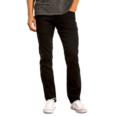 Spring Mens Slim Straight // Black (28WX32L)