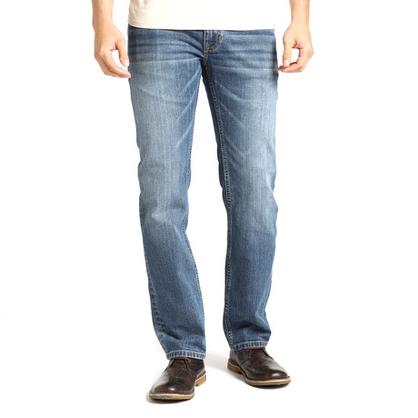 Parker Mens Slim Straight // Light Wash Blue (28WX32L)