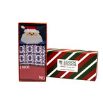 Santa Holiday Socks // Set of 3 Pairs (Size 8-12)