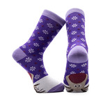 Rudolph Holiday Socks // Set of 3 Pairs (Size 8-12)