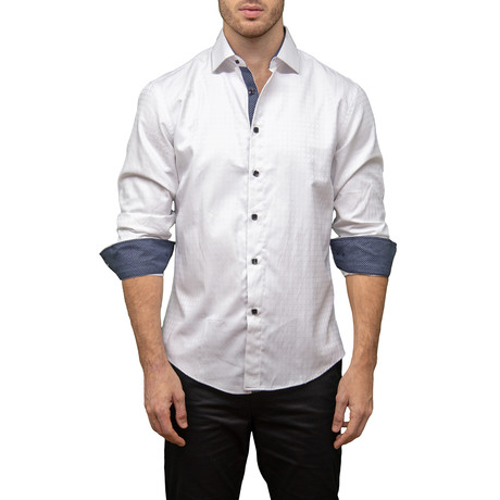 Ron Button-Up Shirt // White (XS)