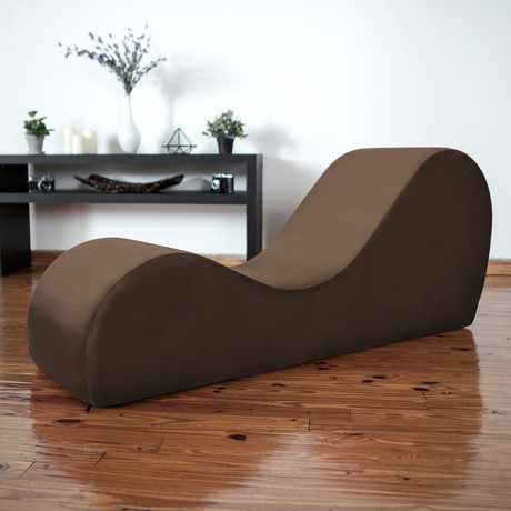 Yoga Chaise // Espresso