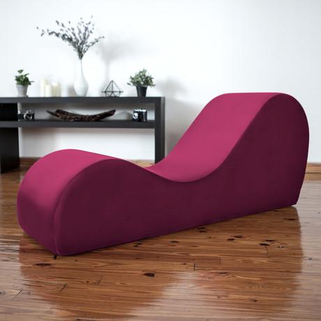 Yoga Chaise // Merlot