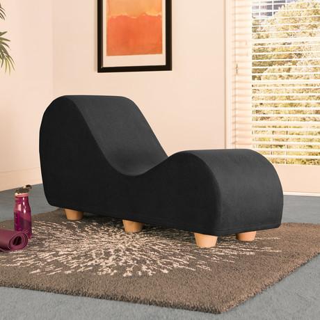 Yoga Chaise // Maple Feet // Black