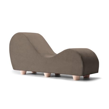 Yoga Chaise // Maple Feet // Mocha