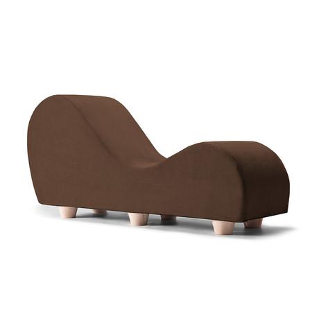 Yoga Chaise // Maple Feet // Java