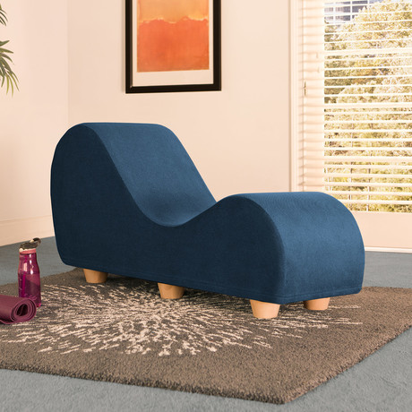 Yoga Chaise // Maple Feet // Marine