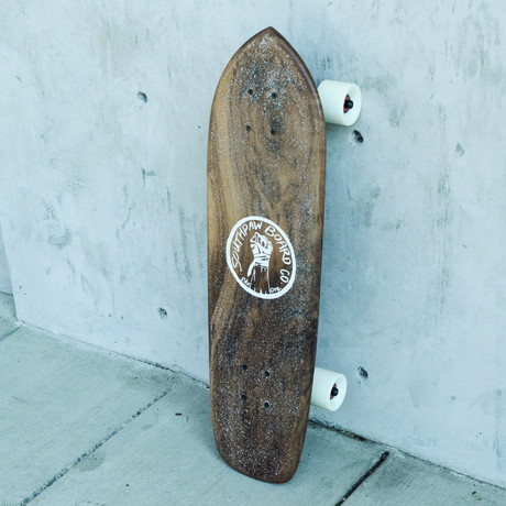 Vintage Cruiser Skateboard // Black Walnut