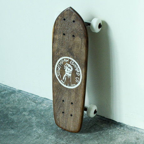 Mini-Skateboard // Black Walnut