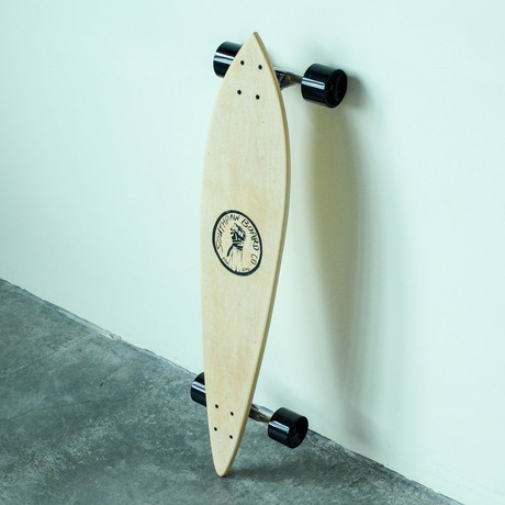 Pintail Longboard // Maple