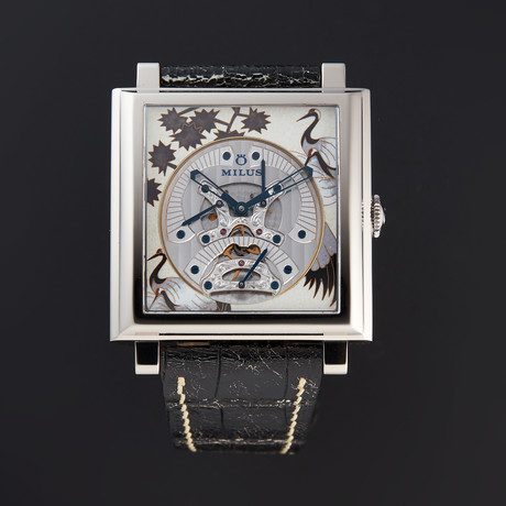 Milus Herios TriRetrograde Automatic // HERT831 // Store Display