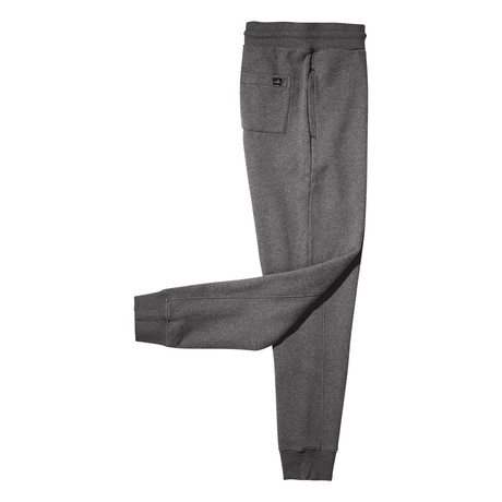 Logan Cuffed Sweatpants // Mid Marl Grey (S)