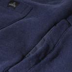 Logan Cuffed Sweatpants // Dark Marl Blue (L)