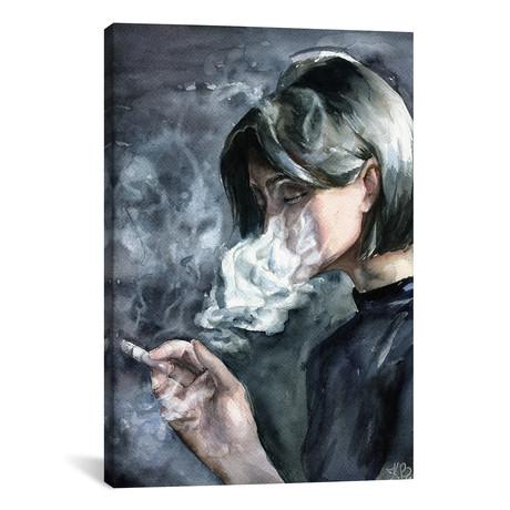 """Smoke // Kira Balan (18""""W x 26""""H x 0.75""""D)"""