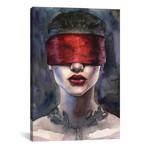 "Red // Kira Balan (18""W x 26""H x 0.75""D)"