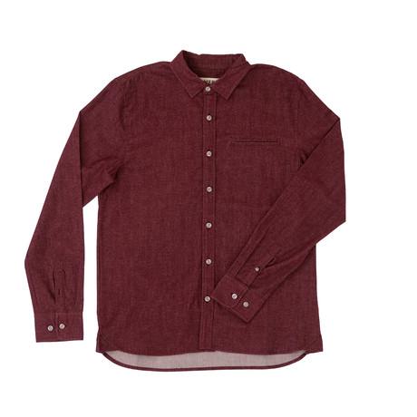 Willow Shirt // Burgundy (XS)