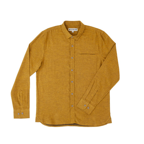 Willow Shirt // Dijon (XS)