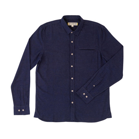 Willow Shirt // Navy (XS)