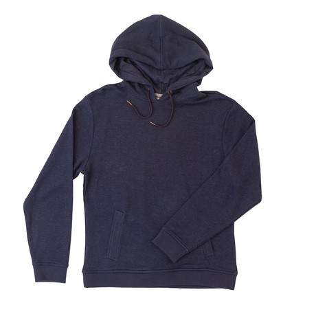 Pine Ridge Hemp + Organic Cotton Blend  Hoodie // Navy (XS)