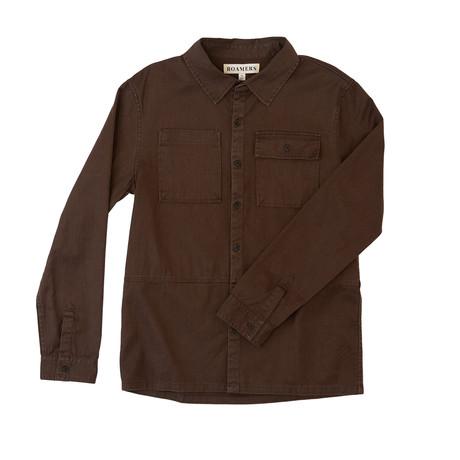 Redwood Workshirt // Chocolate (XS)