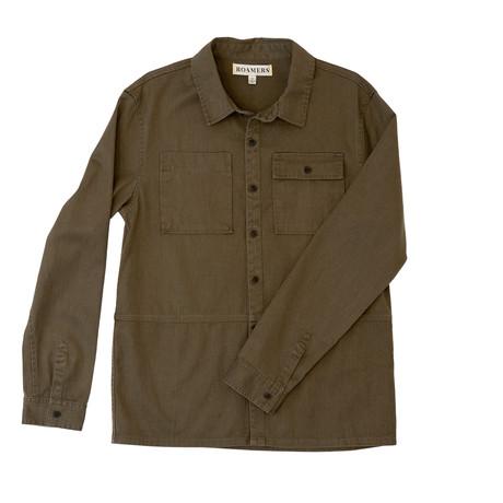 Redwood Workshirt // Olive (XS)