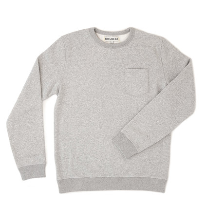 West Blended Fleece // Grey (XS)