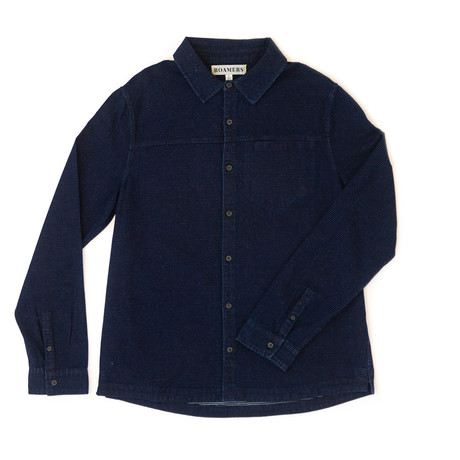 Plaskett Shirt // Indigo Dobby (XS)
