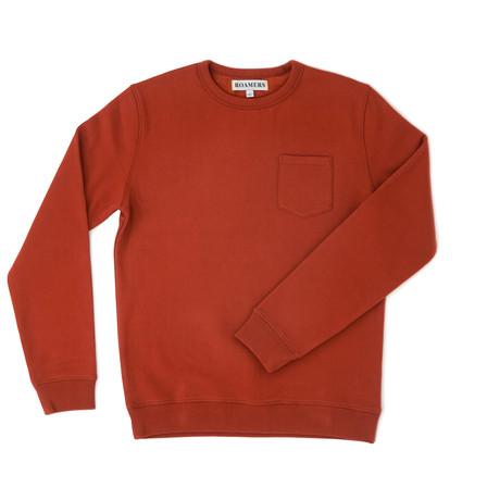 West Blended Fleece // Sienna (XS)