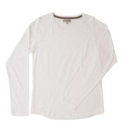 Hyde Organic Cotton Raglan // Bone (XS)