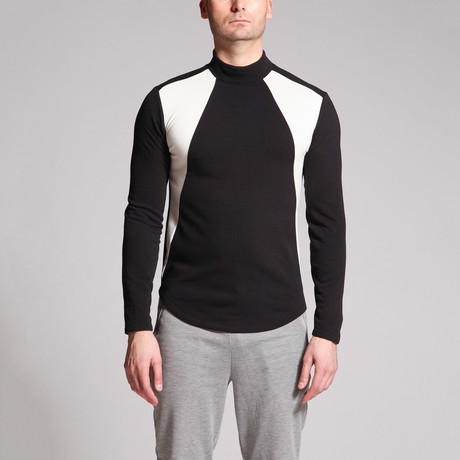 Data Panel Shirt // Black + White (S)
