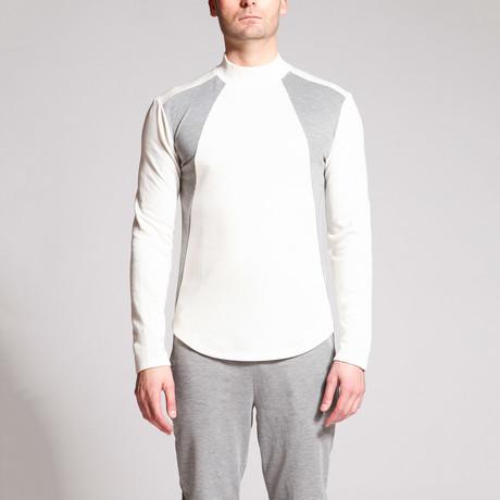 Data Panel Shirt // Grey + White (S)