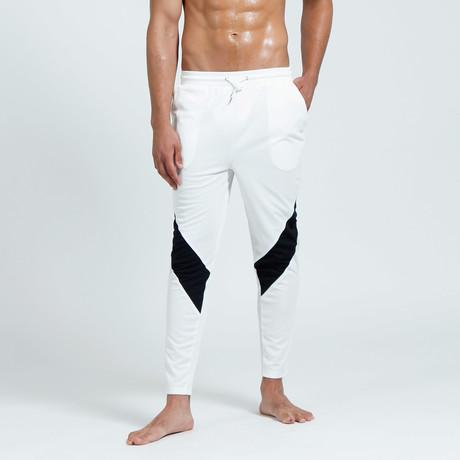 Coppen Jogger // White + Black (S)