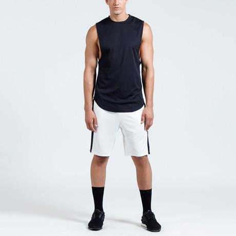 Hudson Muscle Tank // Black (S)