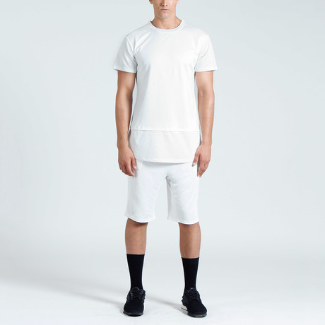 Marc Mesh Tee // White (S)