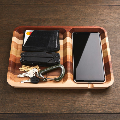 Rectangle Valet (Solid Maple)