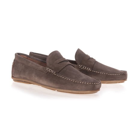 Split Mask Moccassin // Brown (Euro: 40)