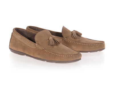 Photo of Castellano Iconic Slip-Ons & Casual Dress Shoes Tassel Moccassin // Mushroom (Euro: 41) by Touch Of Modern