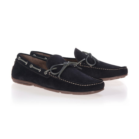Lazo Moccassin // Midnight Blue (Euro: 40)