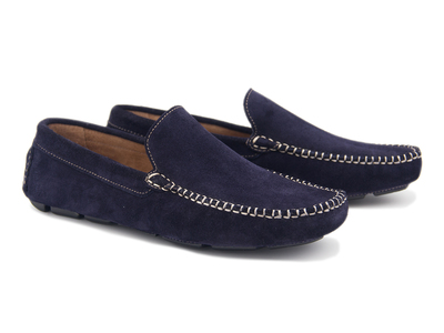 Castellano Iconic Slip-Ons & Casual Dress Shoes Pala Lisa Moccassin // Midnight Blue (Euro: 40) by Touch Of Modern - Denver Outlet