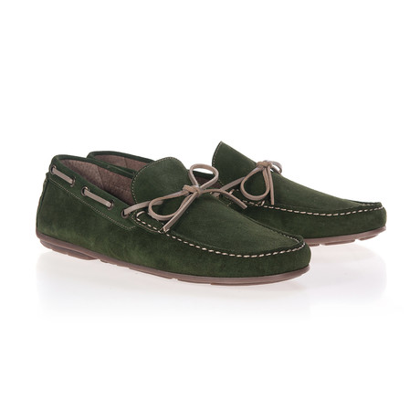 Lazo Moccassin // Forest Green (Euro: 40)