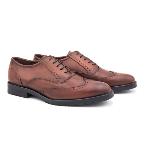 Leather Oxford // Brown (Euro: 40)