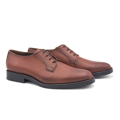 Liso Leather Blucher // Brown (Euro: 40)